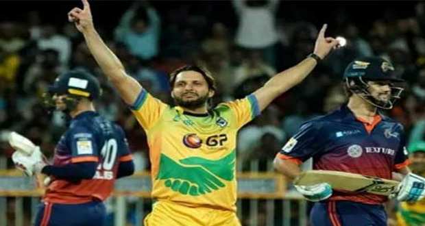T10 Cricket: Afridi Becomes 1st Player to Make Hat-Trick