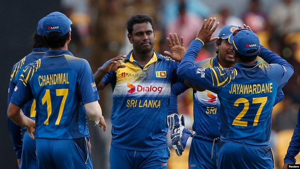 اینجلو میتھیوز پاکستان۔سری لنکا ٹیسٹ سیریز کے پہلے میچ سے باہر