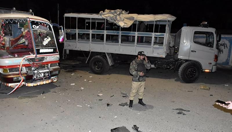 بلوچستان کے ضلع کوہلو میں ایف سی کے ٹرک کو حادثہ،4 اہلکار شہید،51 زخمی