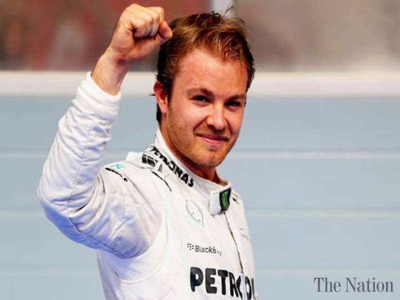 Rosberg downplays talk of easy title win