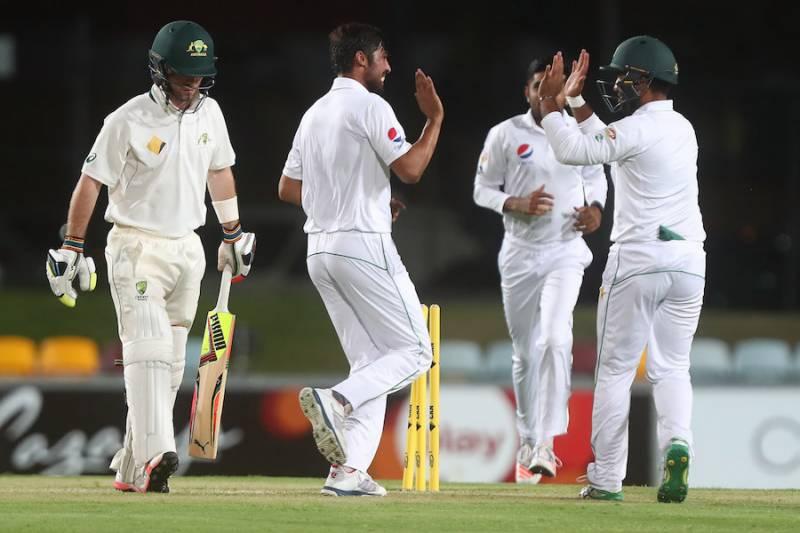 ٹور میچ: کرکٹ آسٹریلیا کو شکست، پاکستان 201 رنز سے فاتح