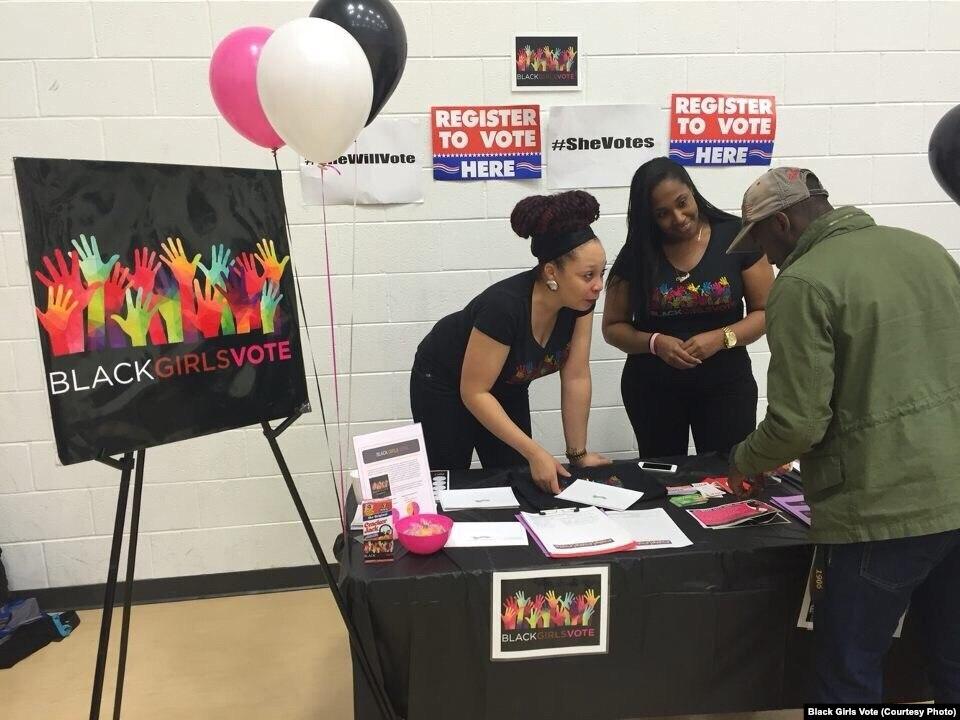 'بلیک گرلز ووٹ' نامی تنظیم کی امریکیخواتین کو فعال ووٹر بنانے کی کوشش