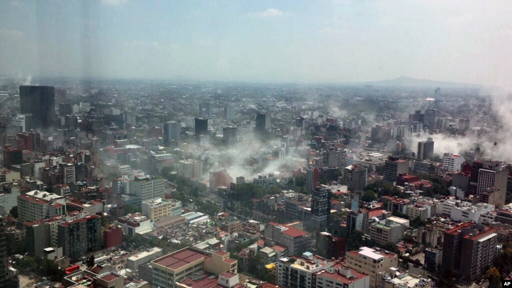 میکسیکو: زلزلے سے ہلاک افراد کی تعداد 250 ہوگئی