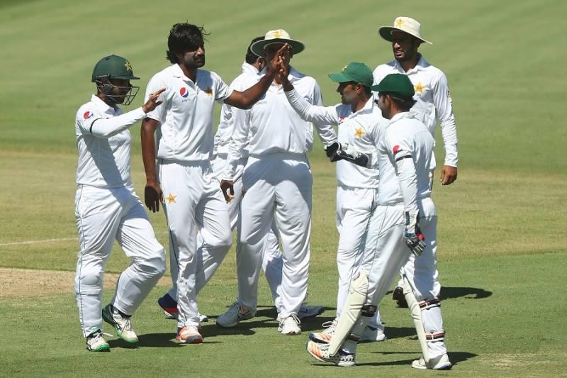 سہ روزہ میچ، پاکستان نے دوسری اننگز میں 5 وکٹوں کے نقصان پر 124 رنز بنا لئے، 218 رنز کی برتری حاصل