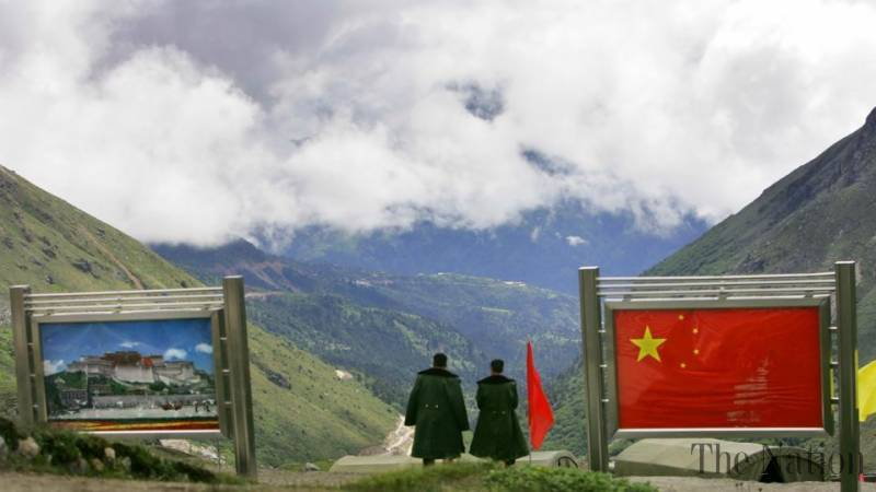China blames Indian troops of border incrusion