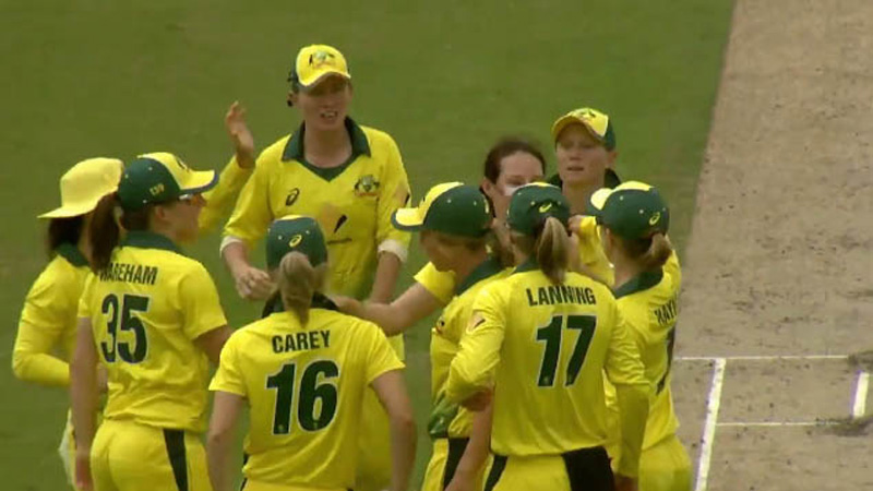 Australia bowl out Pakistan for 95 for dominant win in first ODI