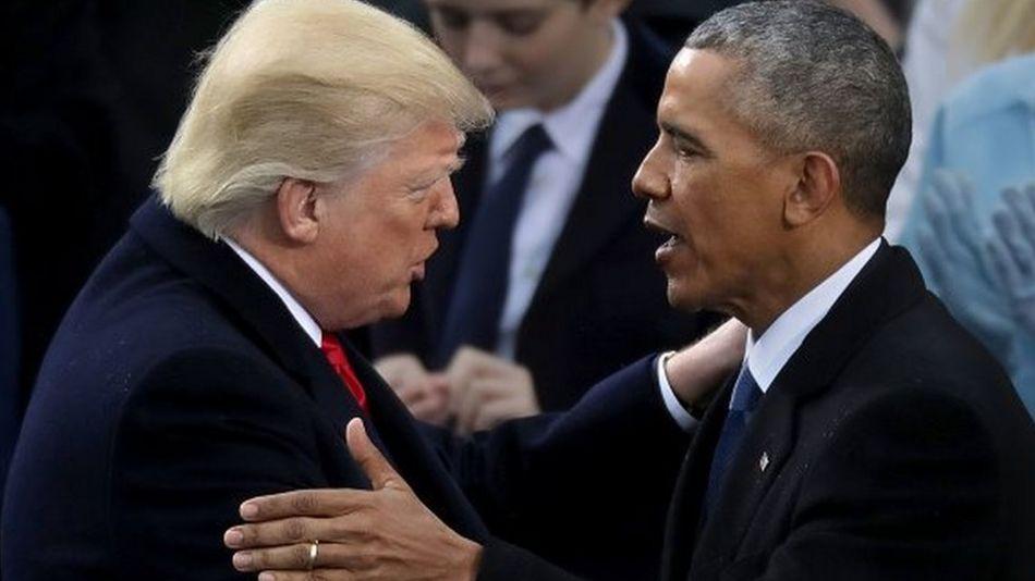 'احتجاج اور قومی راز افشا کرنے کے پیچھے اوباما ہیں'