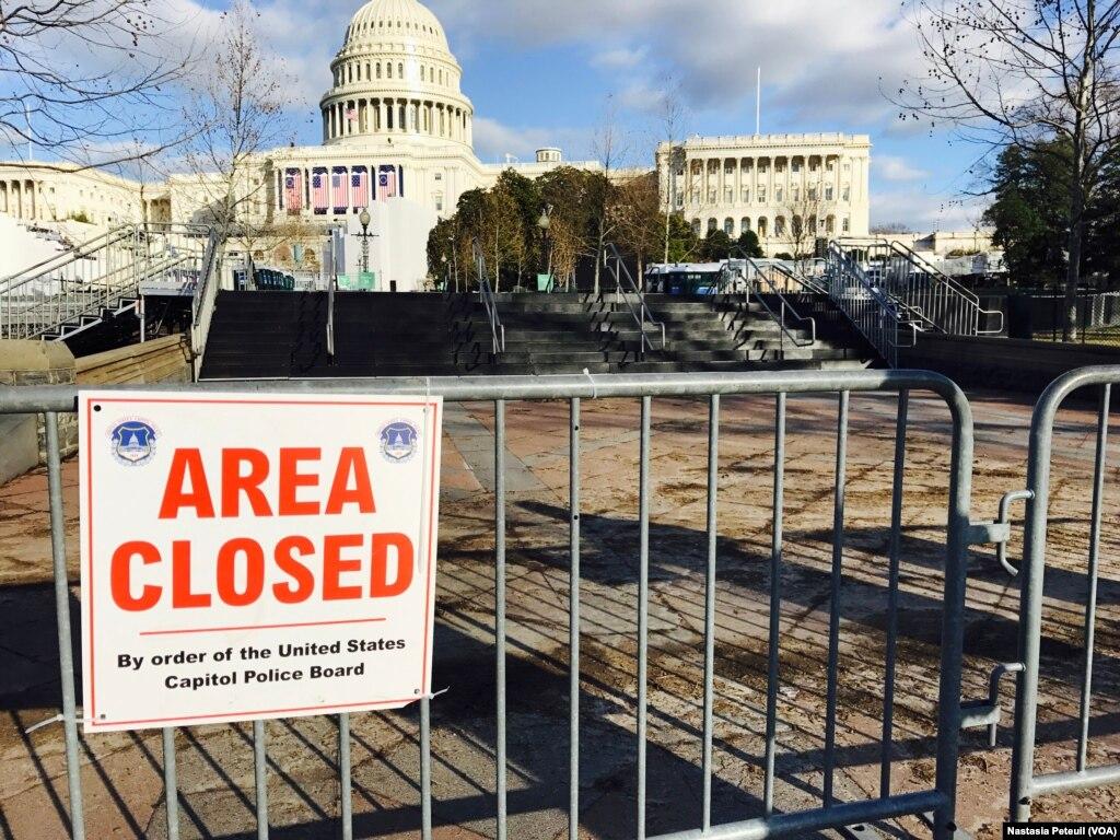 ٹرمپ مخالف مظاہرے، واشنگٹن میں سخت سیکیورٹی انتظامات
