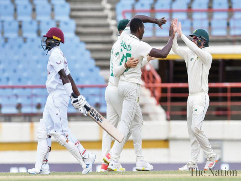 Rabada rips through West Indies to seal innings win for South Africa