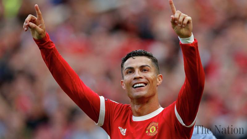 Ronaldo's comeback marked by activist sky banner in support of Rape allegations