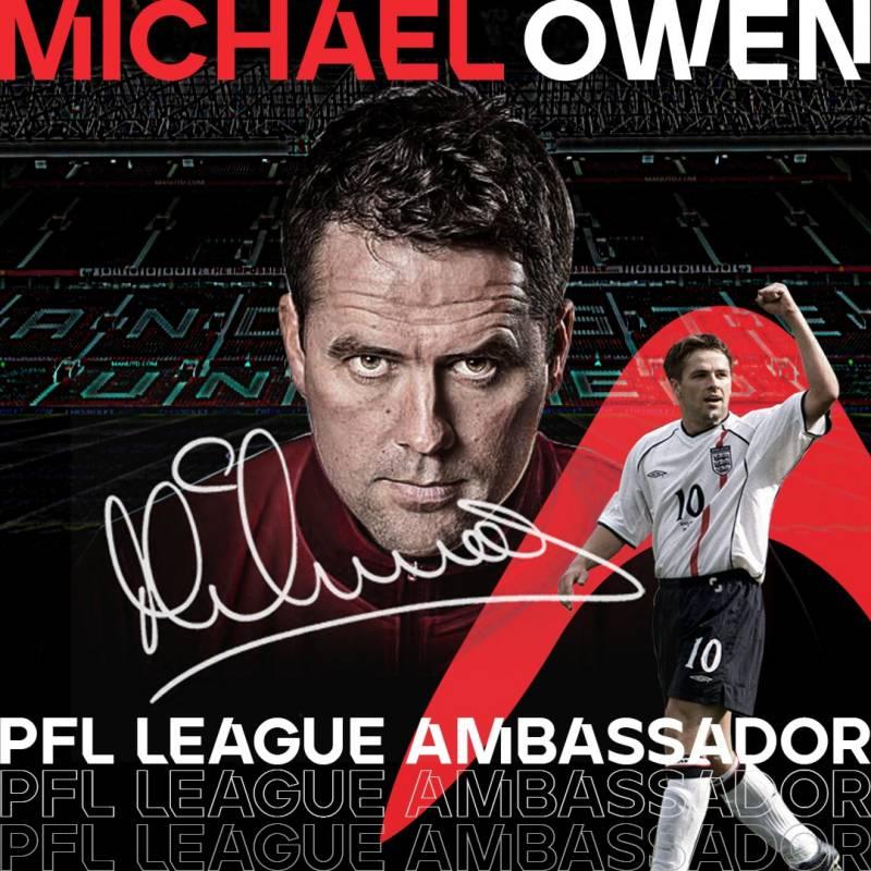 Despite cricket failure, England legend Michael Owen announces visit to Pakistan with PFL