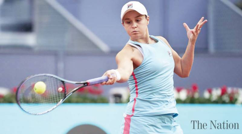 Barty ousts Swiatek to win French Open champions duel in Madrid