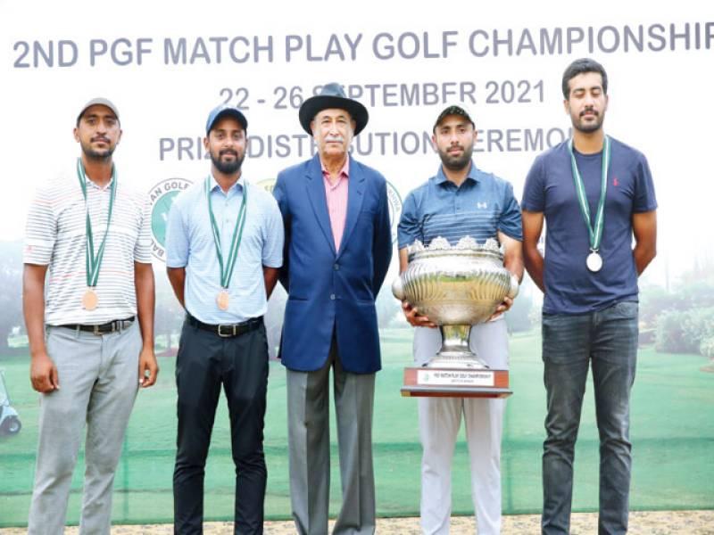Sensational Salman victorious in 2nd PGF Match Play Golf
