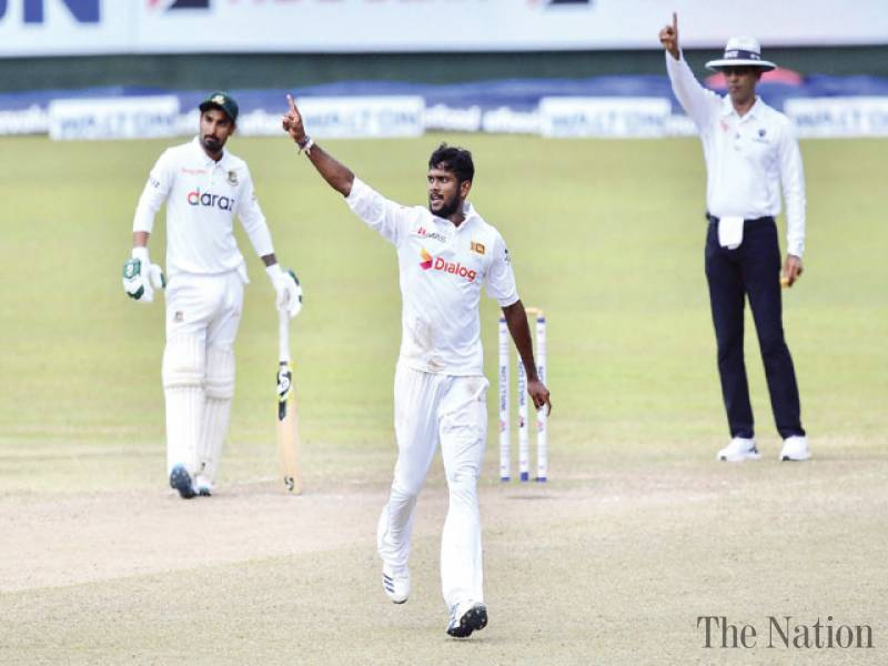 Sri Lanka leave Bangladesh with a mountain to climb