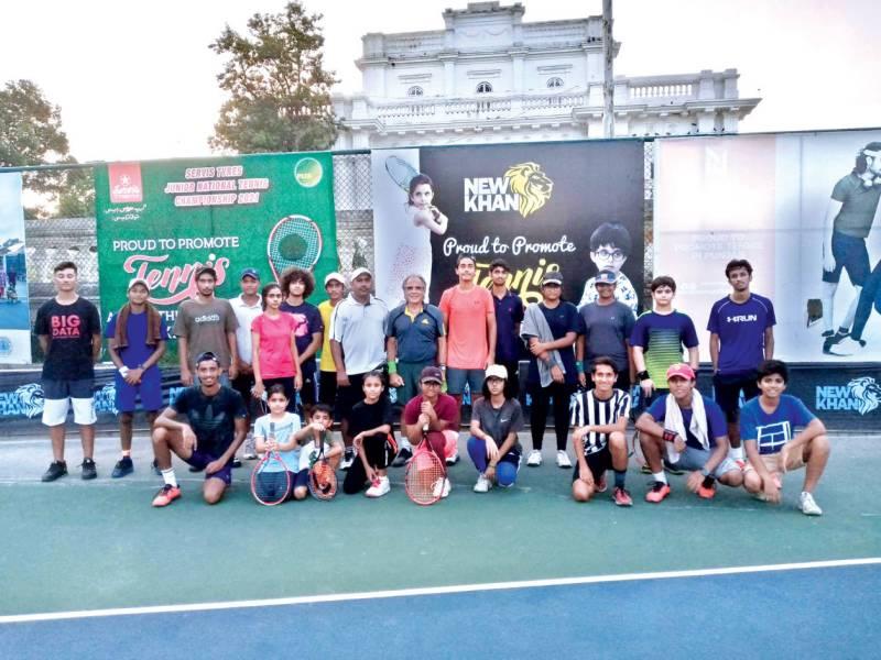Hussnain stuns Faizan in PLTA Punjab Junior Tennis