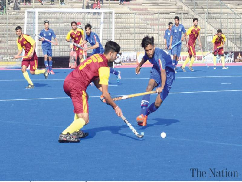 Four more matches decided in Quaid Inter-Division Hockey