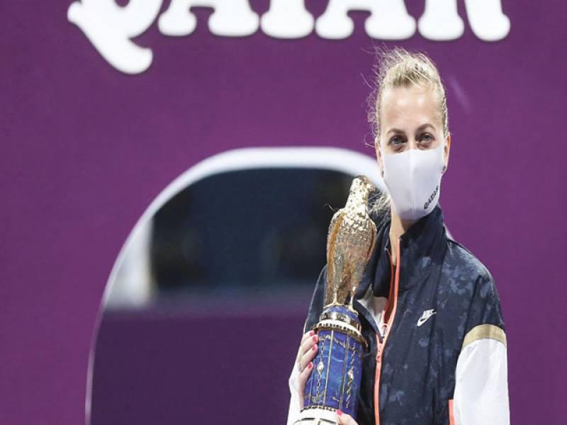 Petra Kvitova rolls to Qatar Total Open title