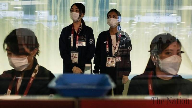 Virus spreads among Tokyo Olympics participants