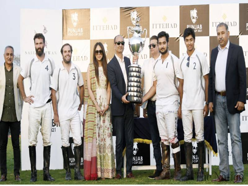 Team BN defends Punjab Polo title