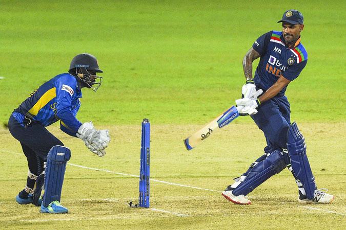 Dhawan, Kishan star as India thrash Sri Lanka in 1st ODI