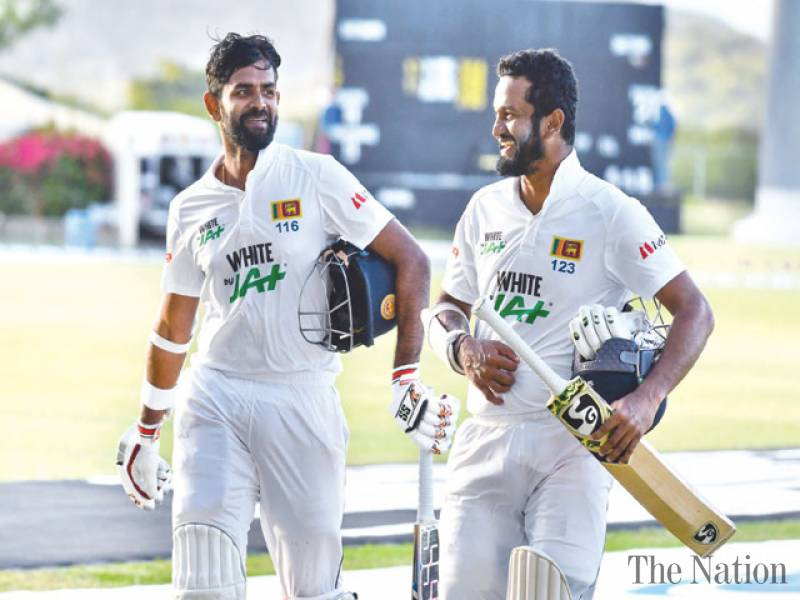 Karunaratne, Thirimanne keep West Indies wicketless