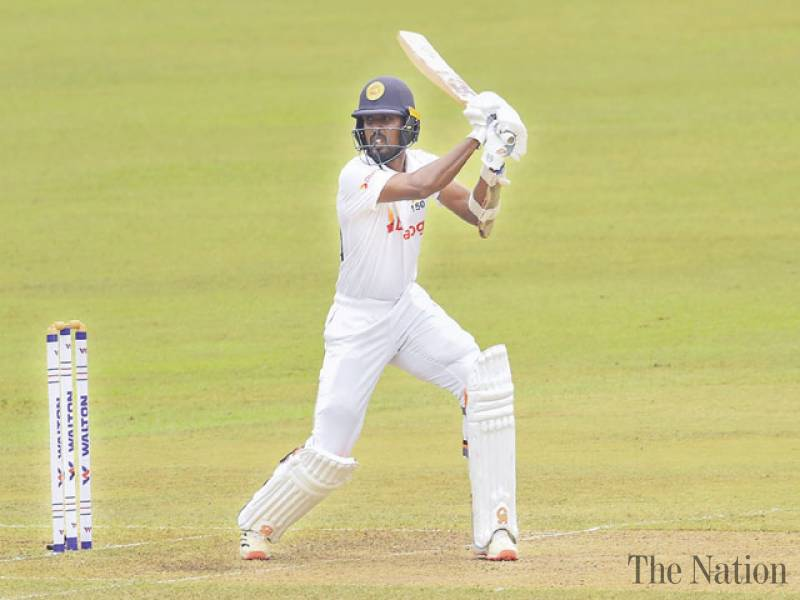Bangladesh fight back, but Fernando, Dickwella fifties bolster Sri Lanka