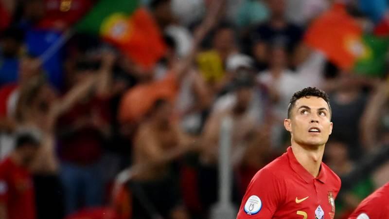 Cristiano Ronaldo scores his 109th goal at UEFA EURO 2020