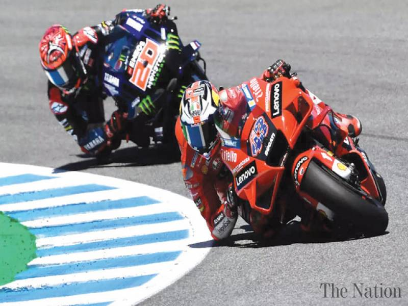 Miller wins Spanish MotoGP as Bagnaia takes championship lead