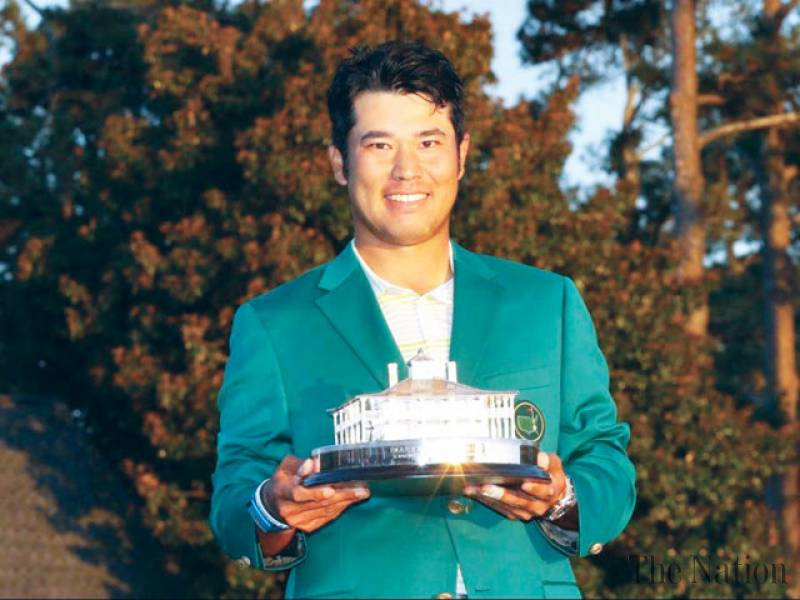 Japan's Matsuyama hangs on to make history with Masters win