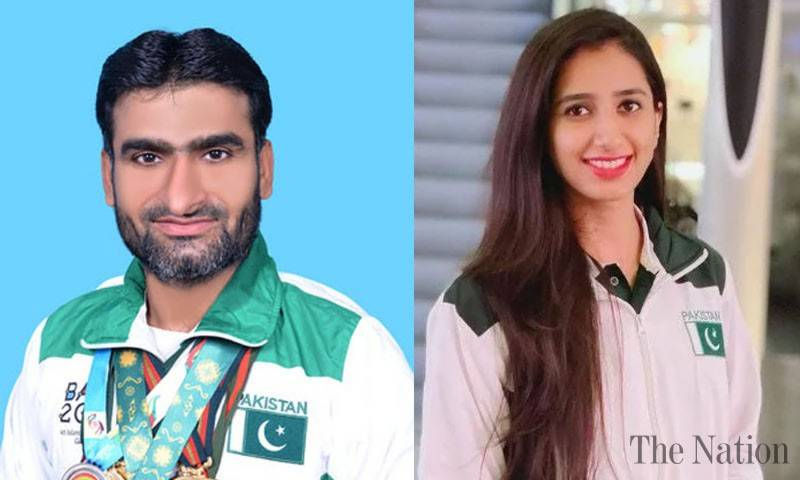 Mahoor, Khalil to be country's flag bearers in Tokyo Olympics