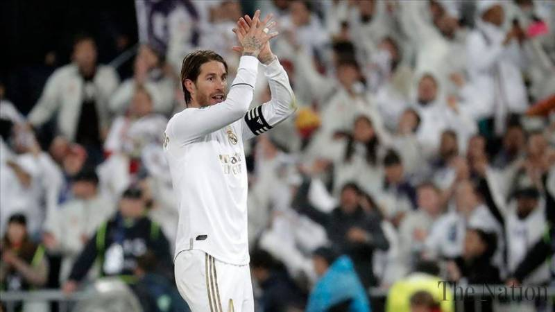 Real Madrid defender Sergio Ramos contracts coronavirus