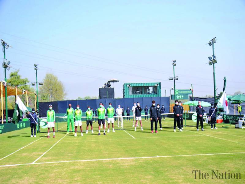 Japan dominate day first of Davis Cup tie against Pakistan