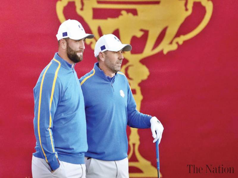 Delayed Ryder Cup returns to raucous reception