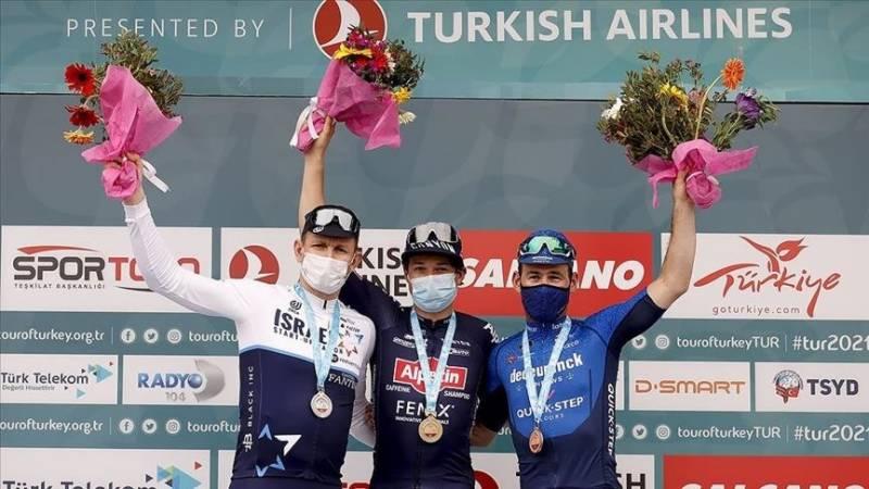 Belgian cyclist Philipsen wins Tour of Turkey's 7th leg