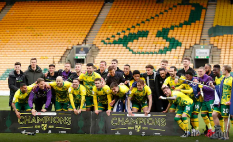 Norwich City wins English Championship title