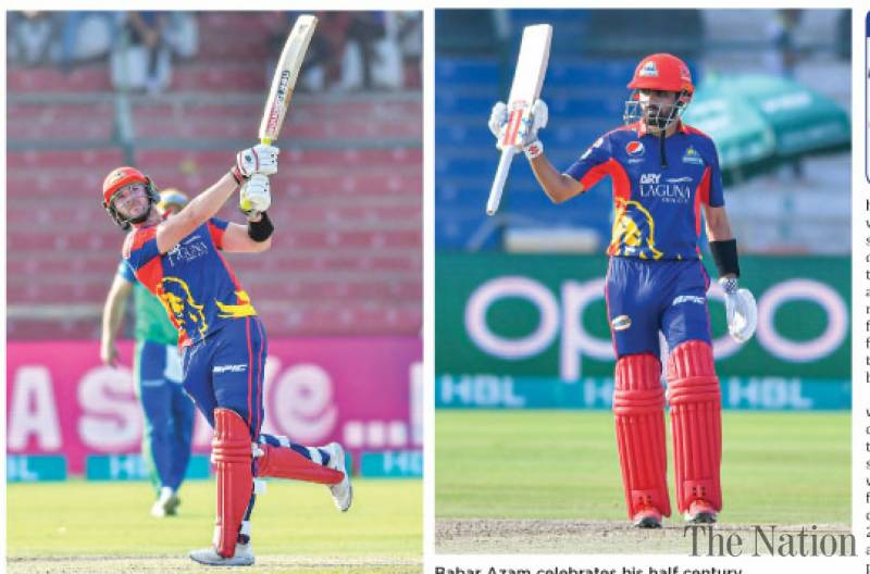 Kings rout Sultans to top PSL-6 points table