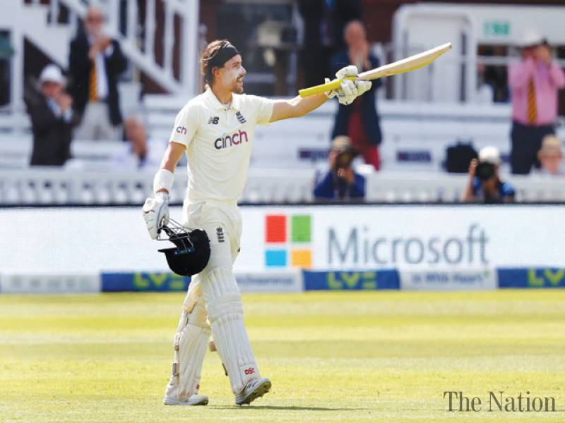 Burns ton frustrates New Zealand after Southee strikes