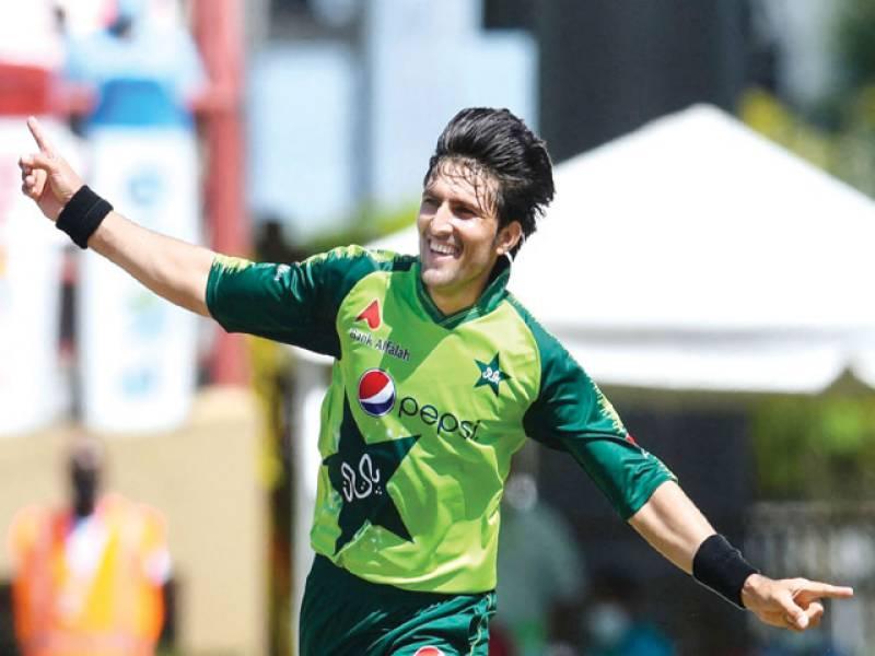 Hafeez, Pakistan miserly in 7-run win over Windies