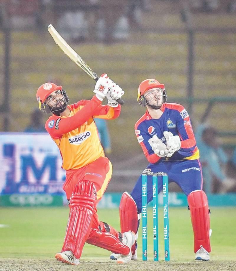 Islamabad beat Karachi in high-scoring PSL match
