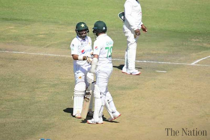 Abid, Azhar take Pakistan on top against Zimbabwe