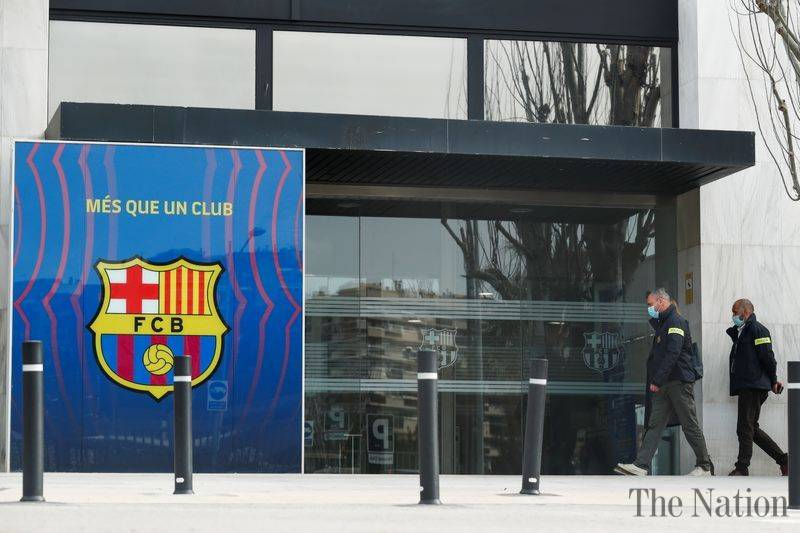 Police arrest ex-president of Barcelona football club