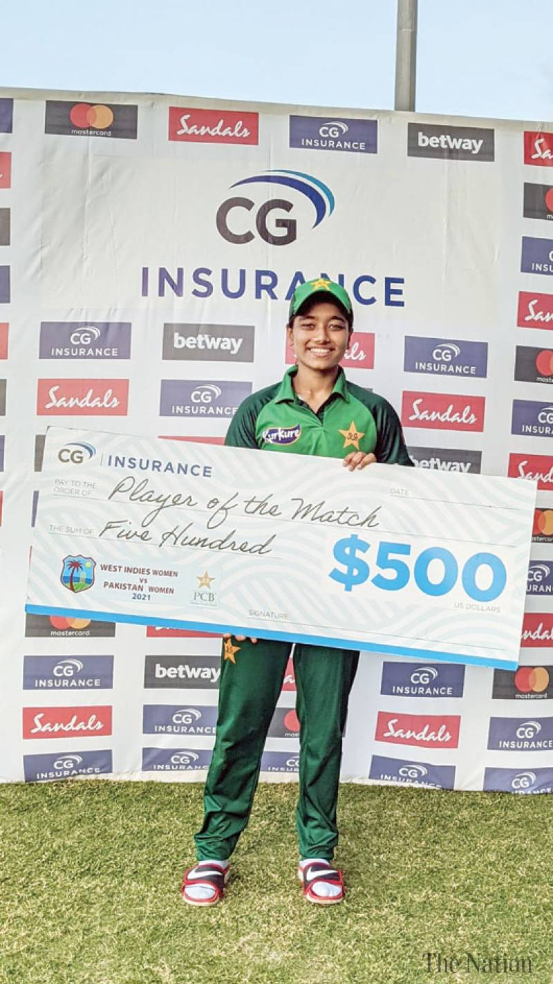 Fatima's maiden five-fer ends Pak Women's tour of West Indies with successive wins