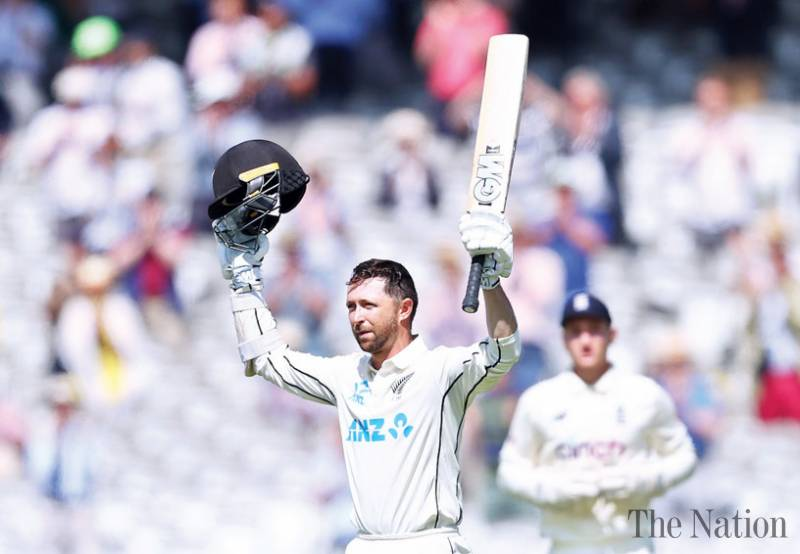 Conway hits debut 200 in New Zealand's 378