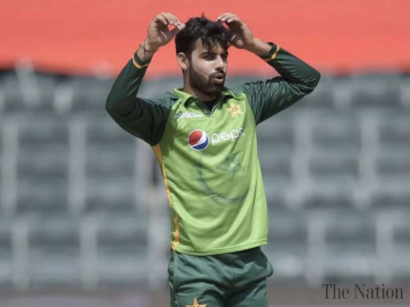 Shadab Khan ruled out of South Africa and Zimbabwe tours