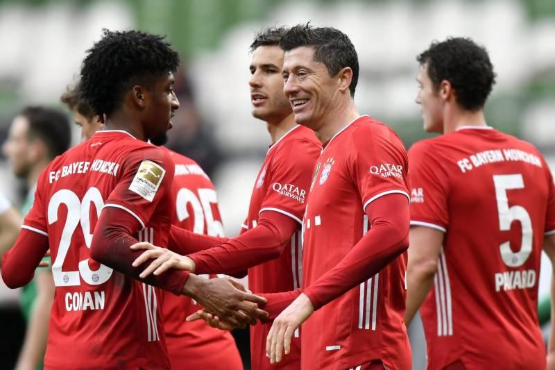Bayern beat Wolfsburg to consolidate lead in Bundesliga