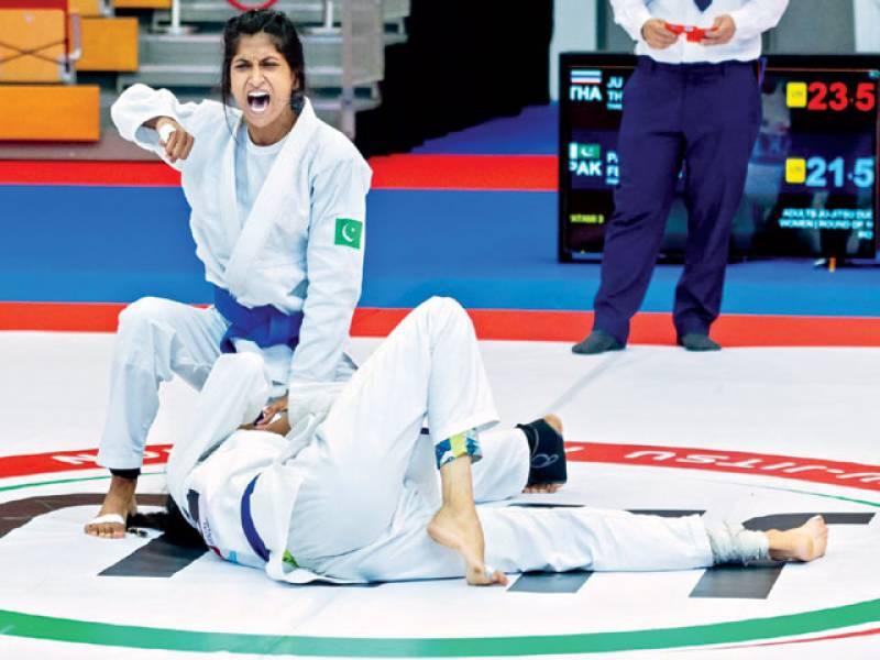 Pakistani athletes shine in Asian Ju-Jitsu C'ship with 8 medals