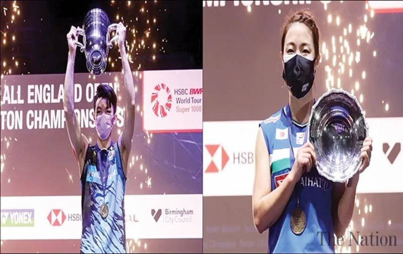 Lee, Okuhara bag singles titles at All England Open