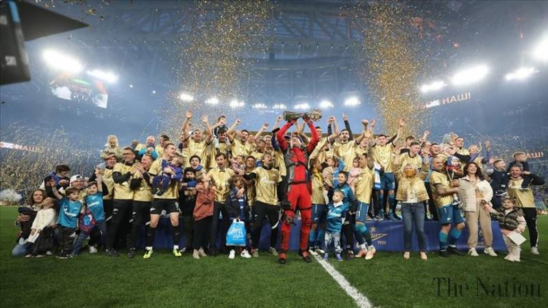 Zenit win Russian Premier League for 3rd straight time