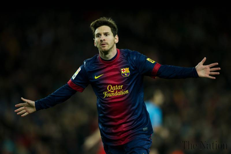 Lionel Messi remains on top of La Liga scoring charts