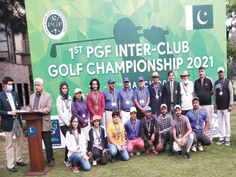 Lahore Garrison Team crowned Inter-Club Golf champion